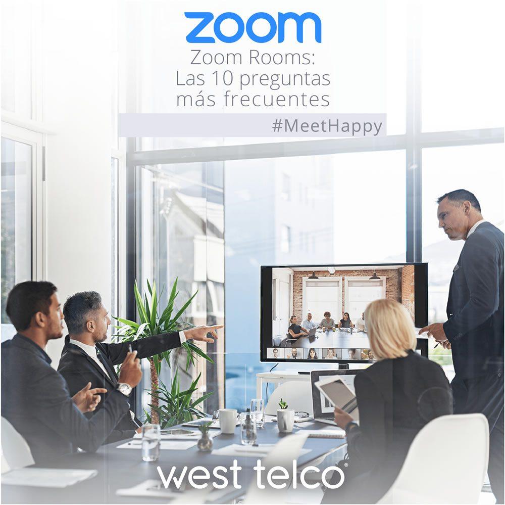 Zoom Rooms: Las 10 preguntas más frecuentes